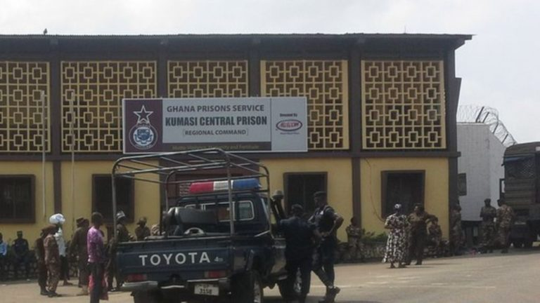 Kumasi Central Prison Records Its First Covid19 Case By Inmate