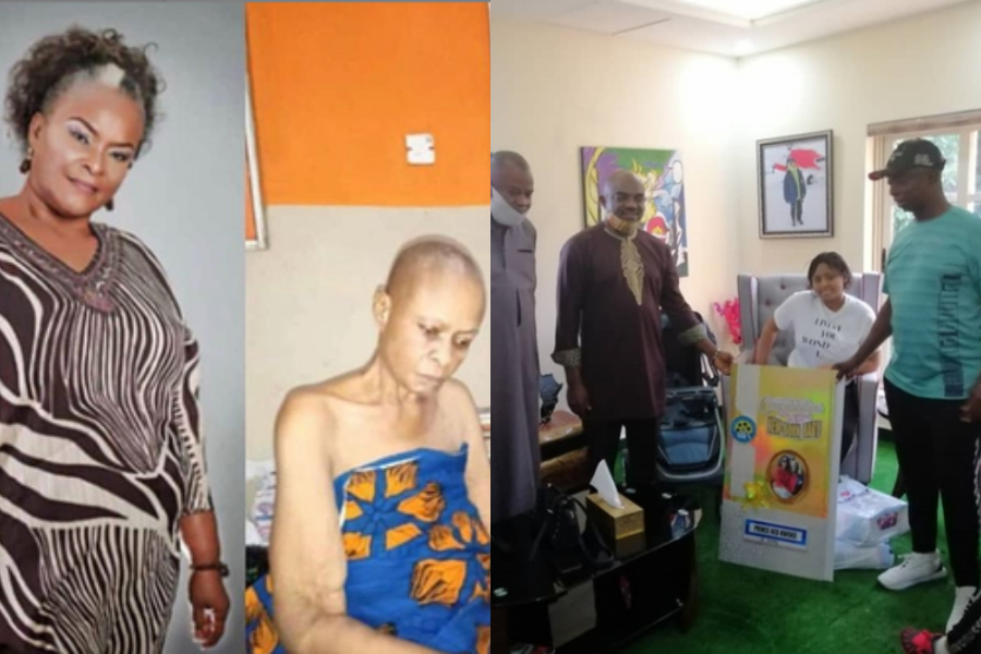 Nigerians Lament Over The Fact That AGN Sadly Ignored Terribly Sick Actress, Ify Onwuemene & Others To Visit Regina Daniels who put to bed - GH Gossip
