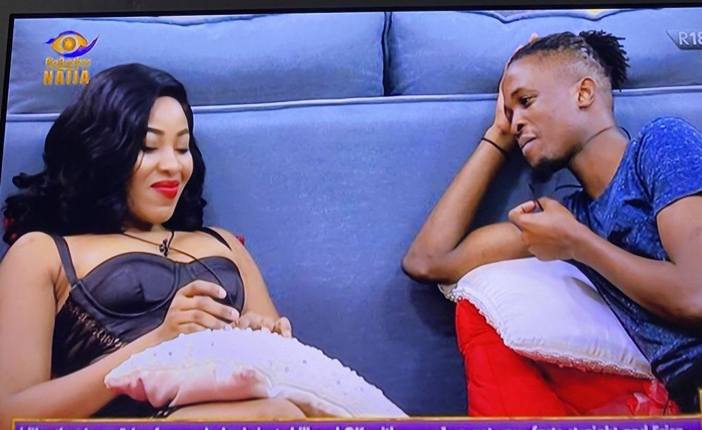 """BBNaija 2020: Laycon reveals Praise """"She Has Been Trying To Kiss Me"""""""
