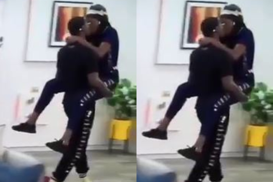 BBNaija 2020: Neo Console Vee With Kisses After She Was Humiliated At The Arena (Video)