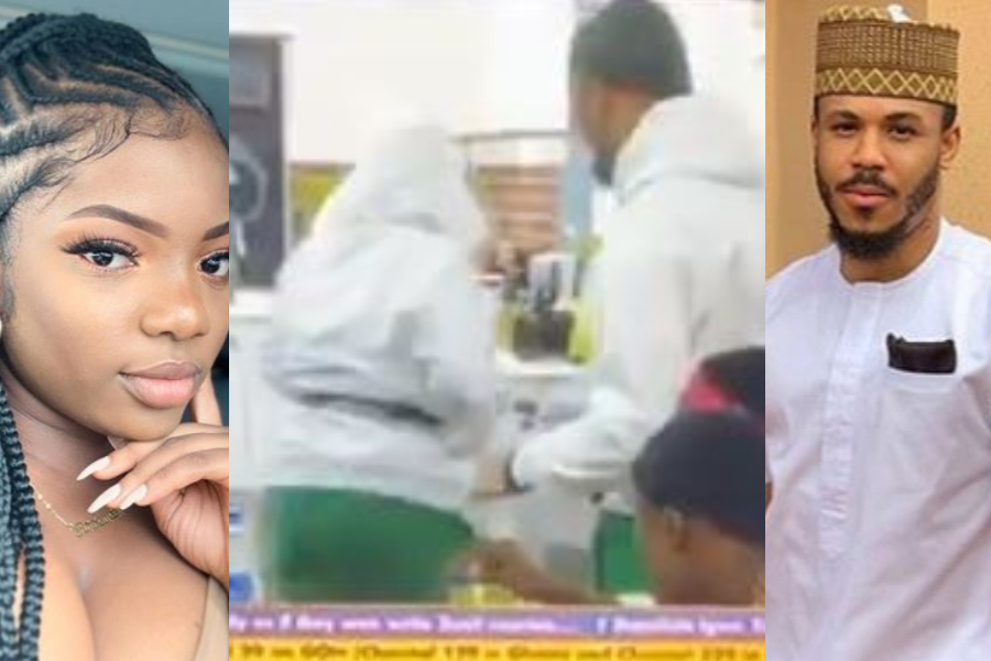 BBNaija 2020: Watch Moment Dorathy Snubbed Ozo When He Tried Talking To Her
