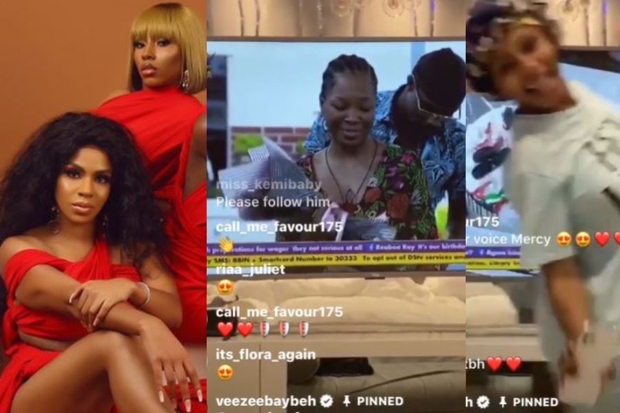 BBNaija 2020: Watch Neo's Sister, Venita And Mercy Eke React After Neo Gave Vee Birthday Presents (Video)