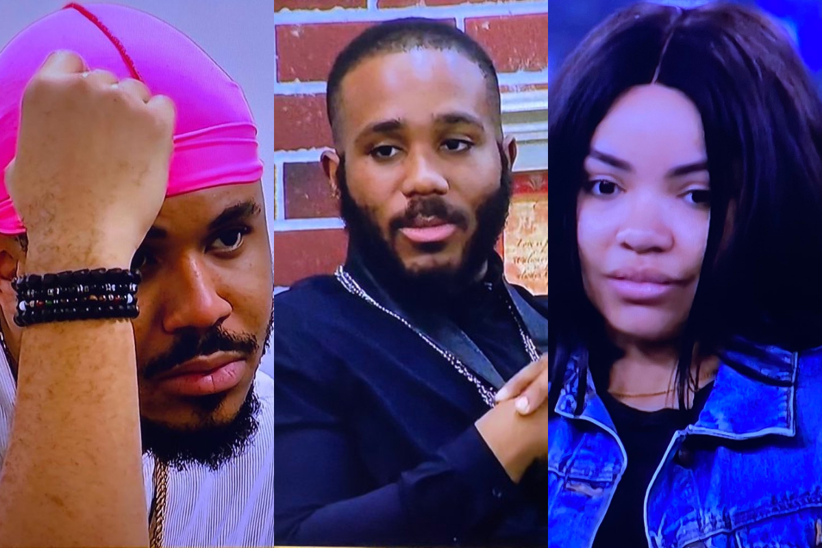 BBNaija 2020: Ozo Brokenhearted After He Caught Kiddwaya Unzipping Nengi's Dress In The Bathroom