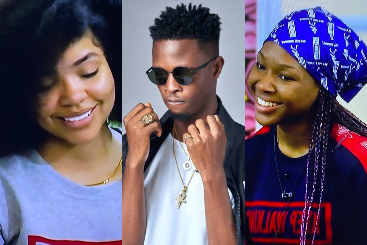 "BBNaija: ""Regardless Of Everything, I'm Happy I Met You Guys"" – Laycon Tells Vee And Nengi (Video)"
