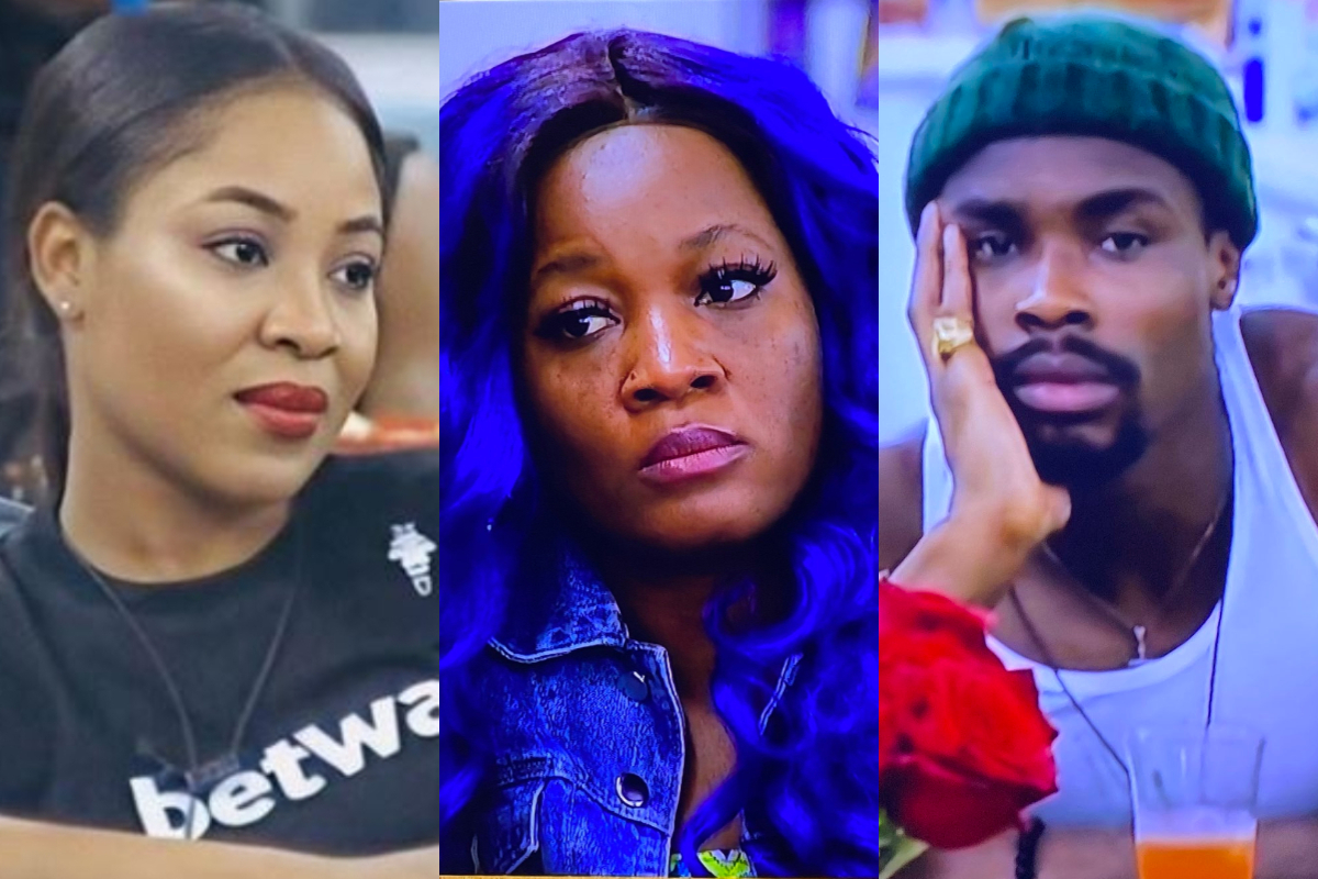 BBNaija 2020: Fight Erupts Between Lucy, Erica and Neo After She Refused To Be On Kiddwaya's Team (Video)