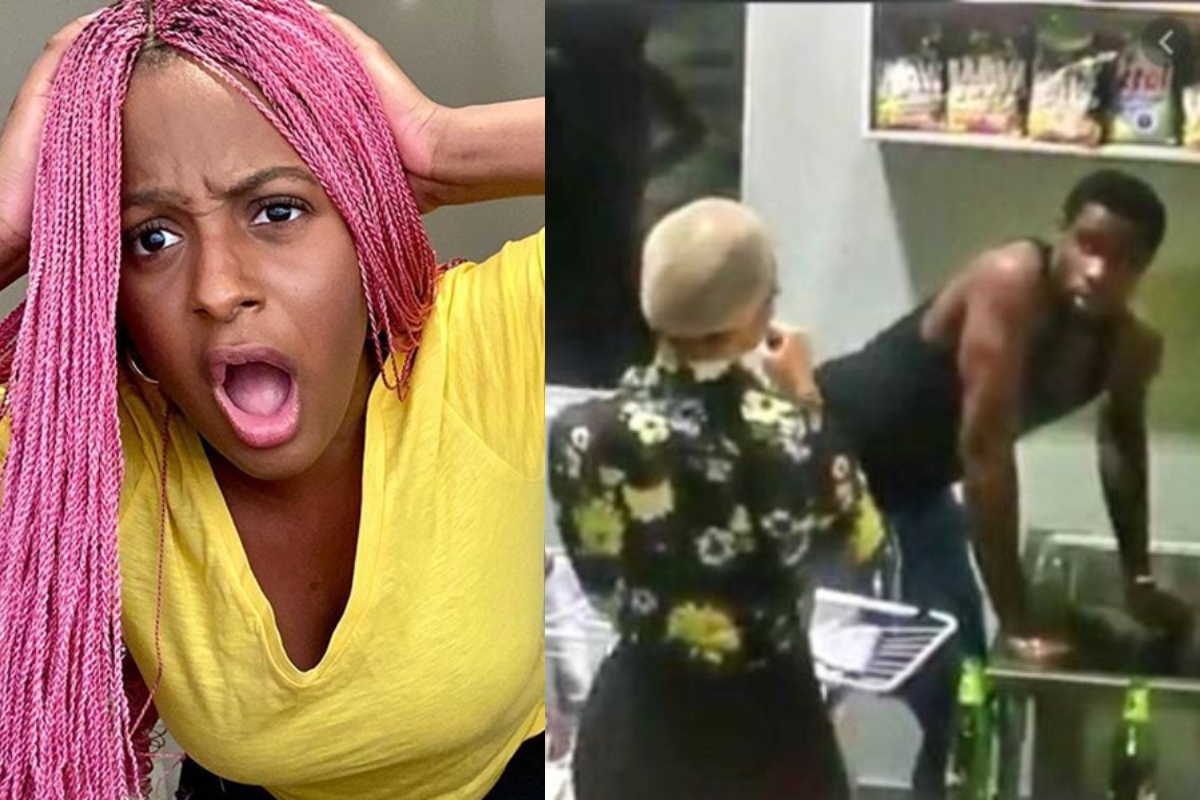 BBNaija 2020: What DJ Cuppy did after seeing Neo washing Vee's Panties On National TV