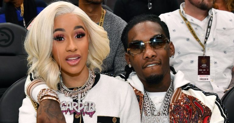 Cardi B Was In Bed With Offset When She Posted a Nude