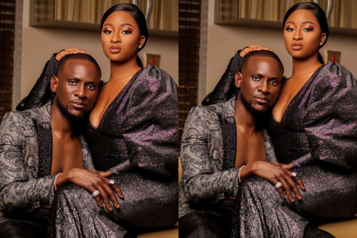 What Kimoprah said as she celebrates Omashola on his 40th birthday (Photo)