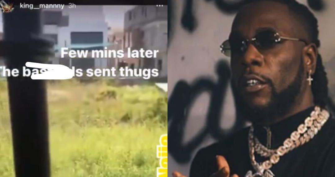Burna Boy and Ighalo House Allegedly Burnt Down By Political Thugs for supporting #Endsars – Video