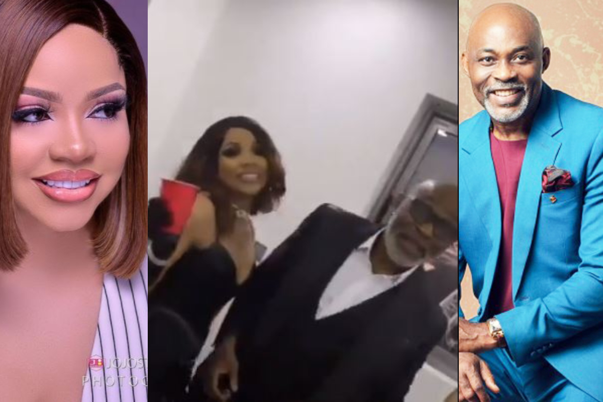 Nengi spotted having fun with Nollywood Actor, RMD